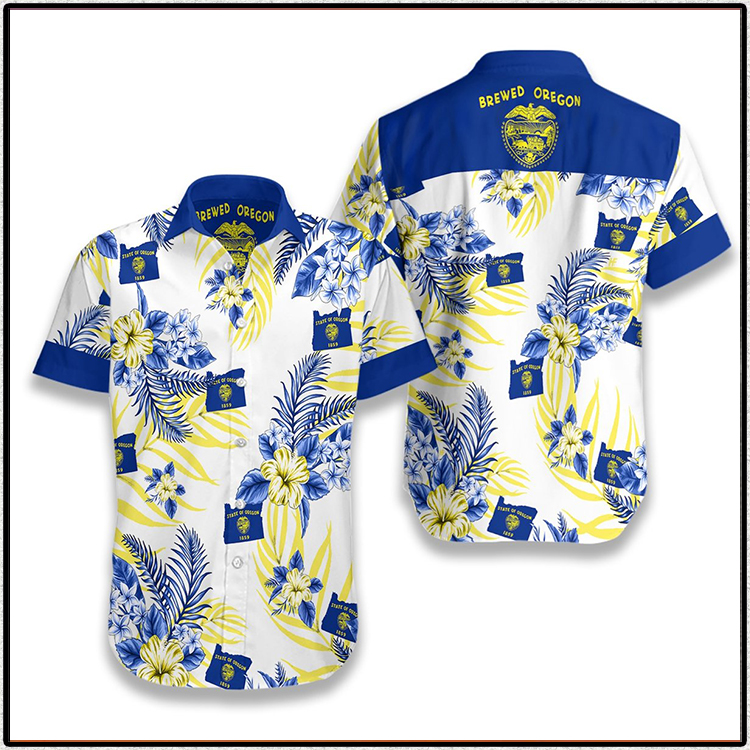 Oregon Proud Hawaiian Shirt3
