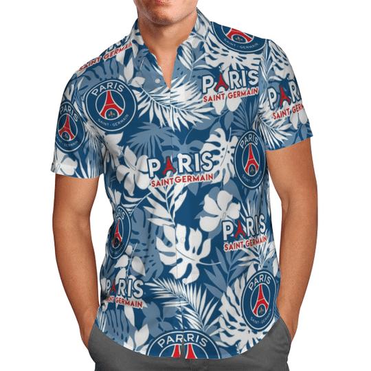 Paris Saint Germain Hawaiian Shirt1
