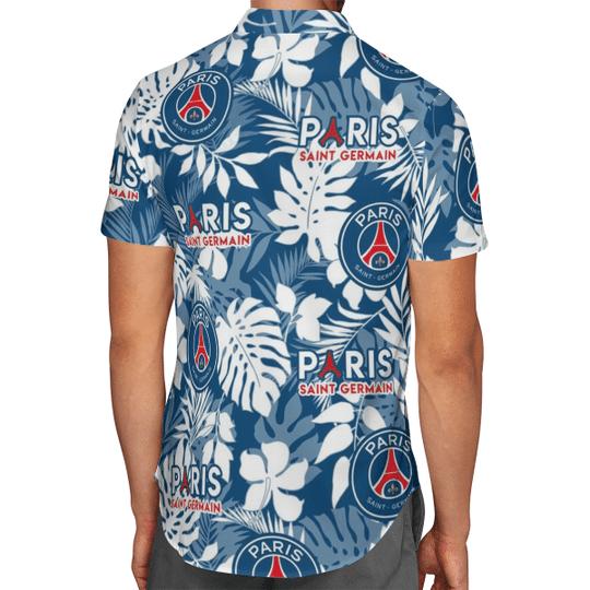 Paris Saint Germain Hawaiian Shirt2