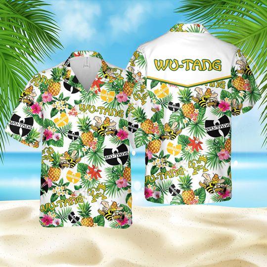 Pineapple Wu Tang Hawaiian Shirt