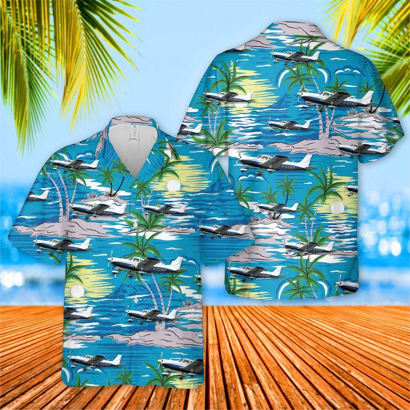 Piper PA 32 Cherokee Six Hawaiian Shirt