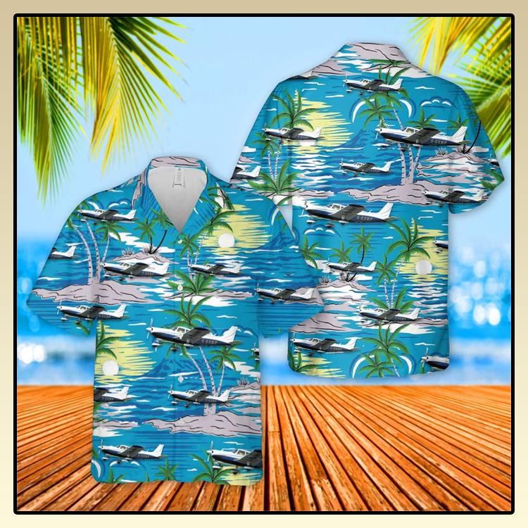 Piper PA 32 Cherokee Six Hawaiian Shirt2