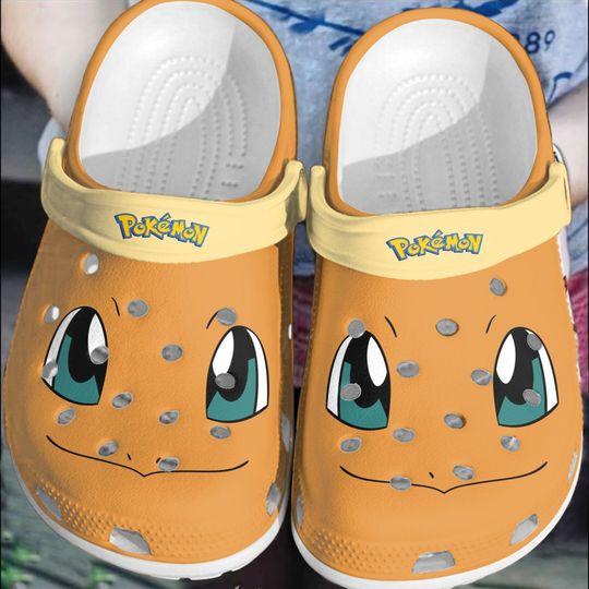 Pokemon Hitokage Charmander crocs log crocband