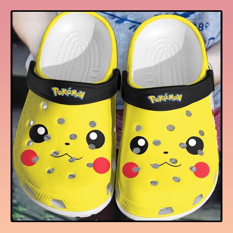 Pokemon Pikachu crocs log crocband3