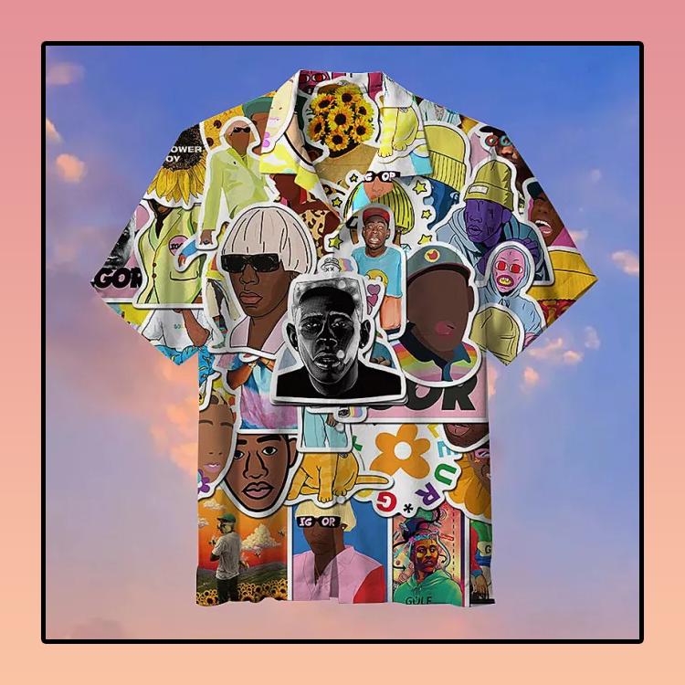 Pop Rapper Tyler Hawaiian Shirt