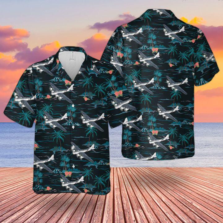 RAF Boeing B 17 MK IIA Flying Fortress Hawaiian shirt