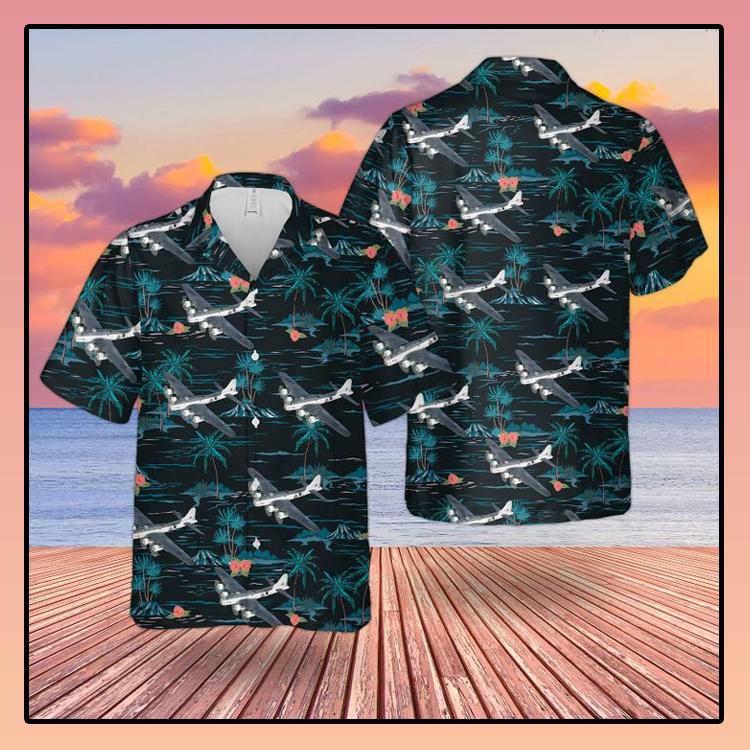 RAF Boeing B 17 MK IIA Flying Fortress Hawaiian shirt2
