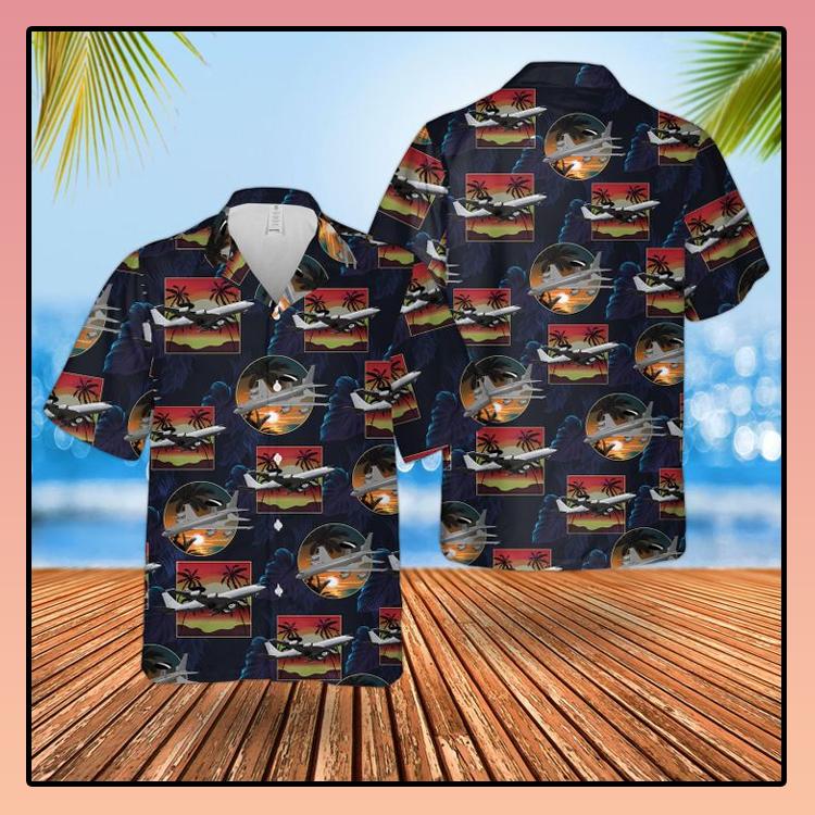 RAF Boeing E 3D Sentry AEW1 Hawaiian shirt2
