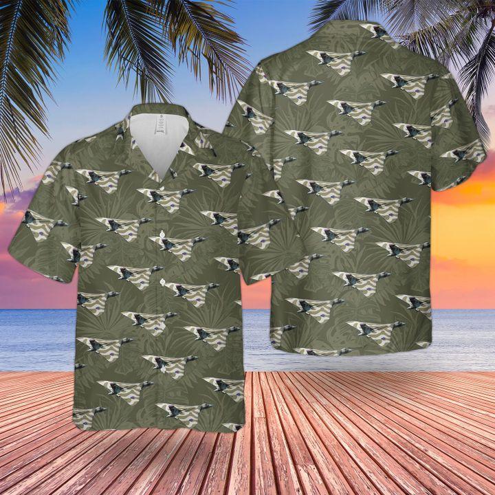 RAF Historical Avro Vulcan Hawaiian shirt