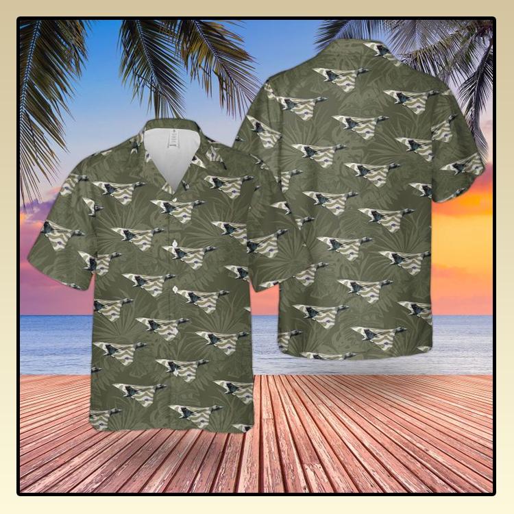 RAF Historical Avro Vulcan Hawaiian shirt2