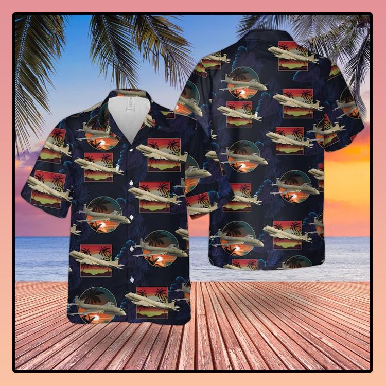 RAF Historical Nimrod MR 2 Hawaiian shirt2