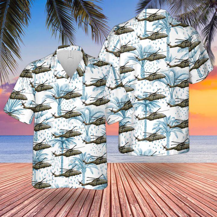 RAF Merlin HC3 Hawaiian shirt