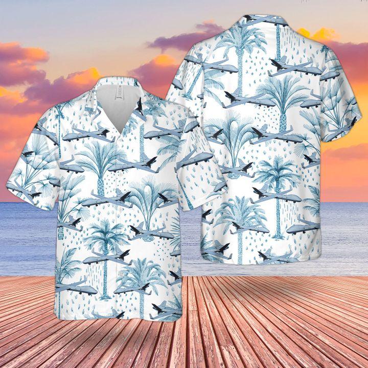 RAF Reaper MQ 9A Hawaiian shirt
