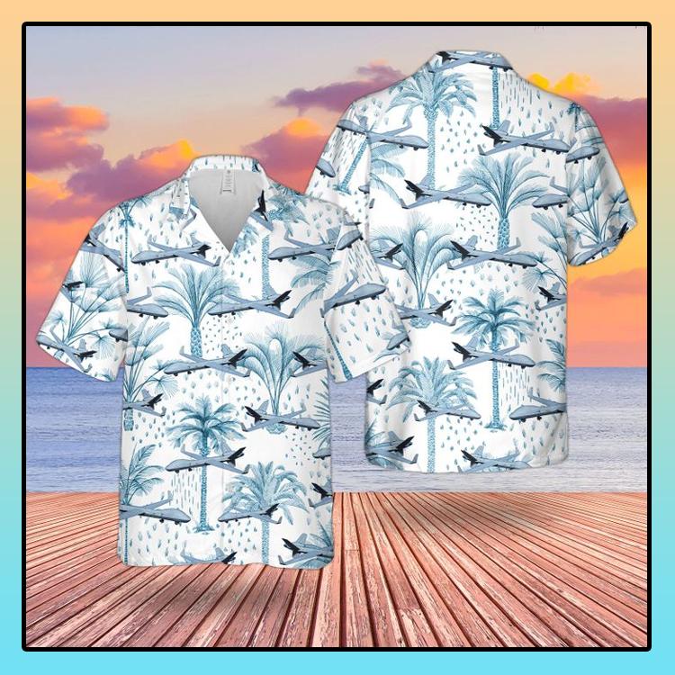 RAF Reaper MQ 9A Hawaiian shirt1