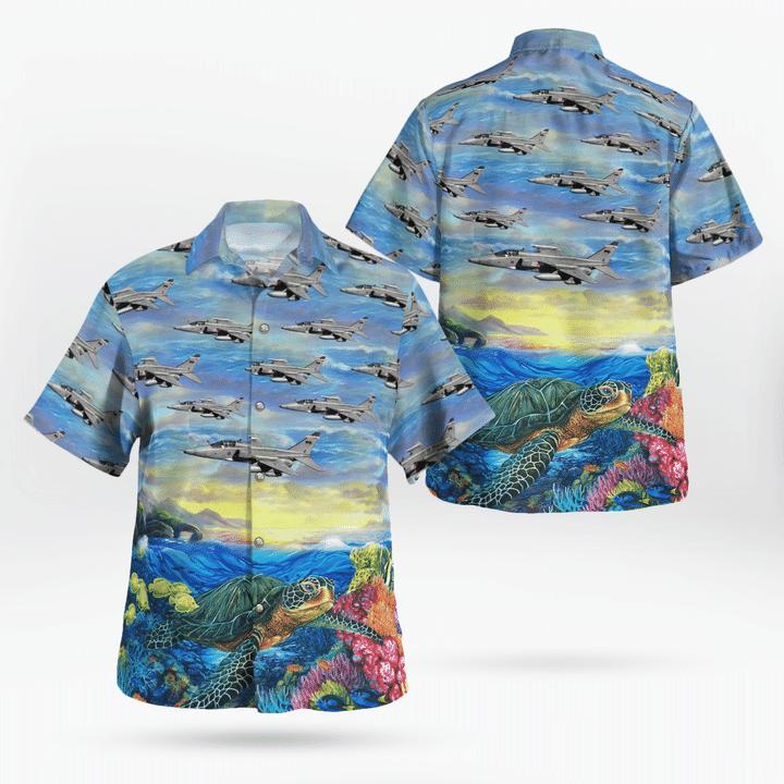 RAF Sepecat Jaguar Hawaiian shirt