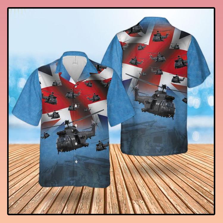 RAF The Puma HC MK2 Hawaiian shirt2