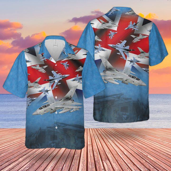 RAF Tornado Gr4 Hawaiian shirt