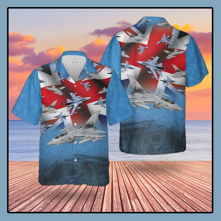 RAF Tornado Gr4 Hawaiian shirt3