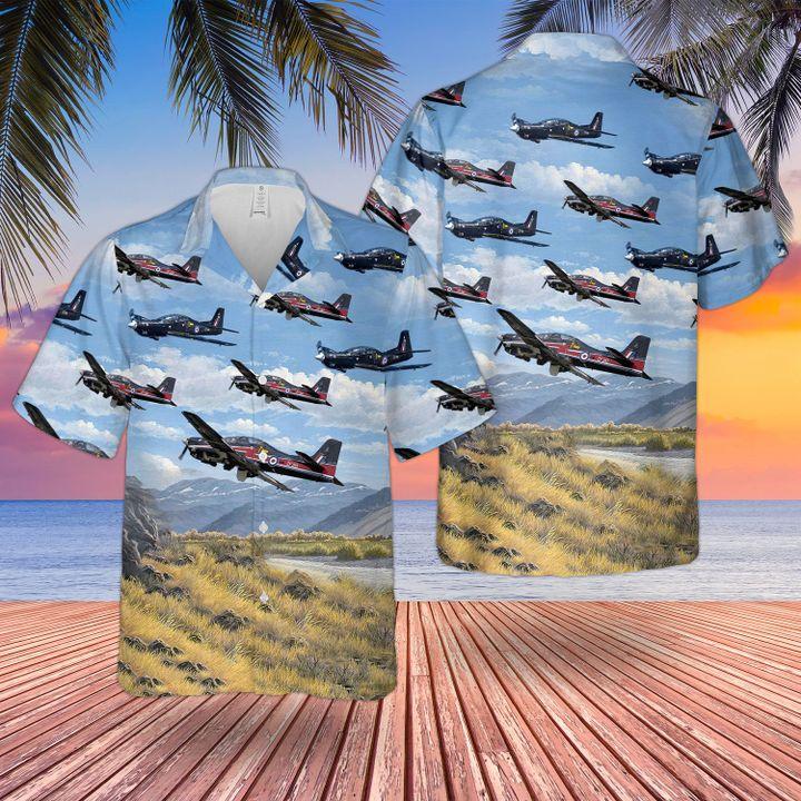 RAF Tucano T1 Hawaiian shirt