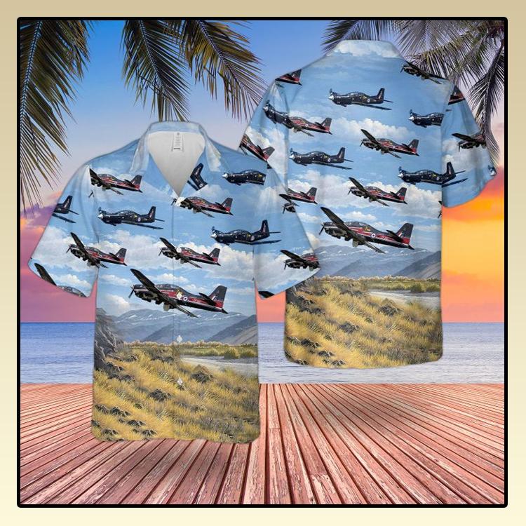 RAF Tucano T1 Hawaiian shirt2