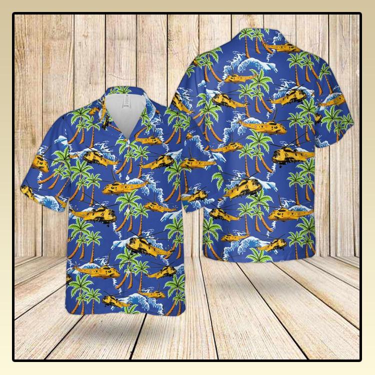 RAF Westland SEA King HAR3 Hawaiian shirt2