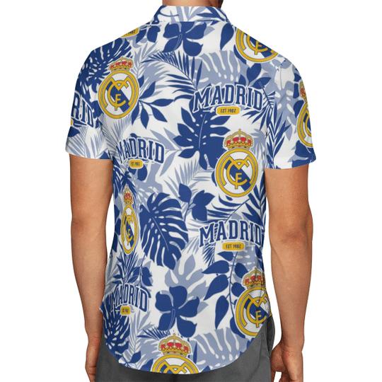 Real Madrid Hawaiian Shirt2