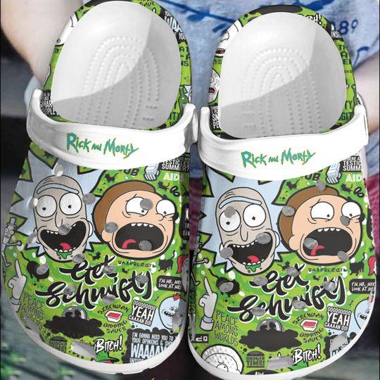 Rick and Morty crocs log crocband
