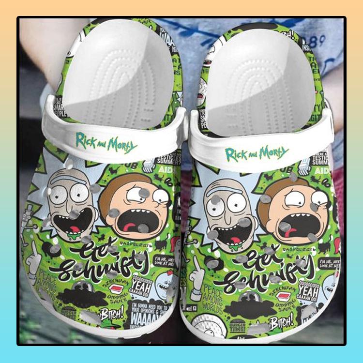 Rick and Morty crocs log crocband4