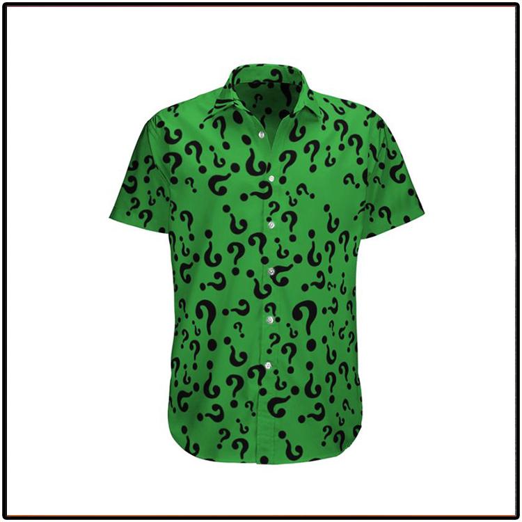 Riddler edward nygma Hawaiian Shirt1