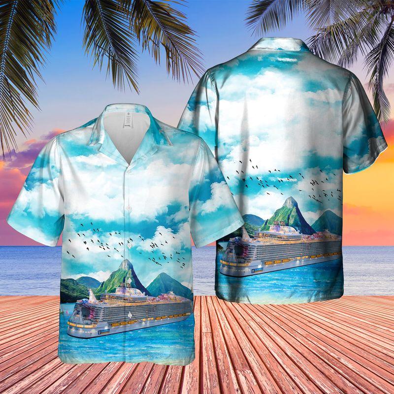 Royal Caribbean International Symphony of the Seas Hawaiian Shirt