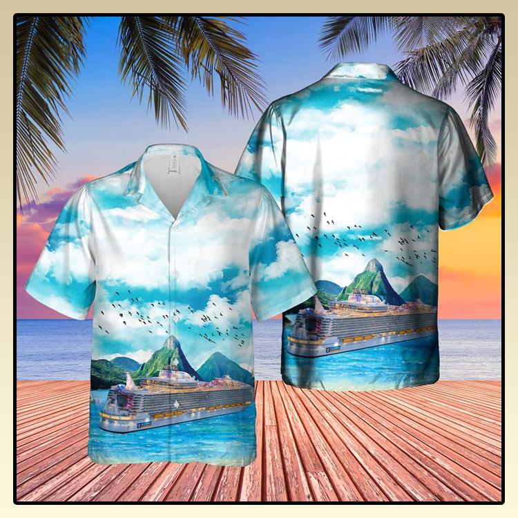 Royal Caribbean International Symphony of the Seas Hawaiian Shirt3