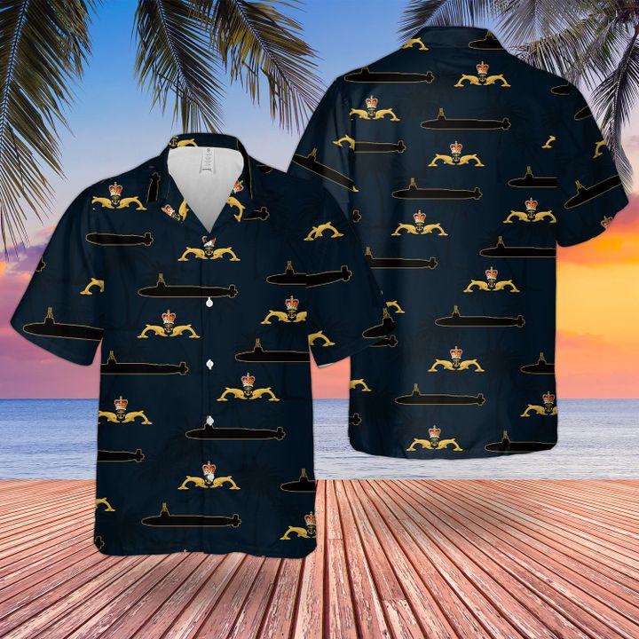 Royal navy dolphins badge hawaiian