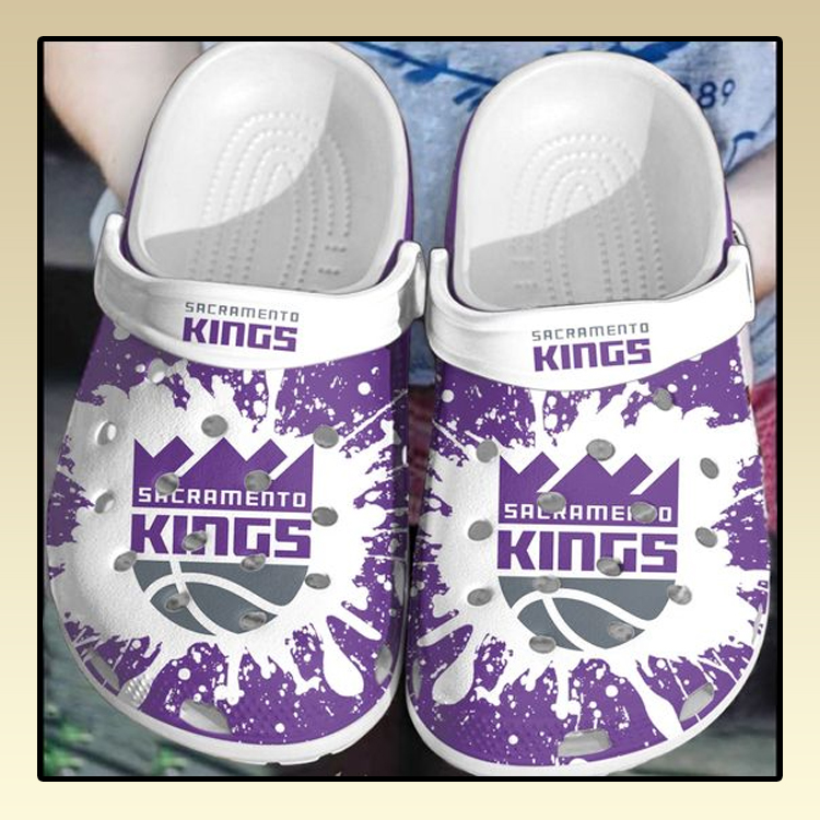 Sacramento Kings crocs log crocband2