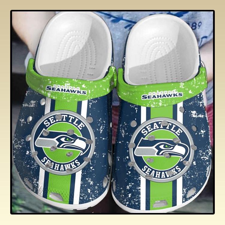 Seahawks seattle crocs log crocband2