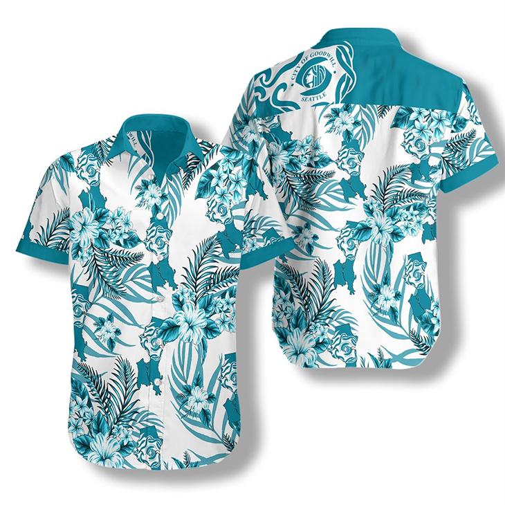 Seattle Proud Hawaiian Shirt 3