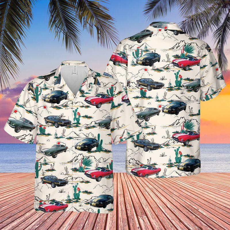 Shelby Mustang Hawaiian Shirt