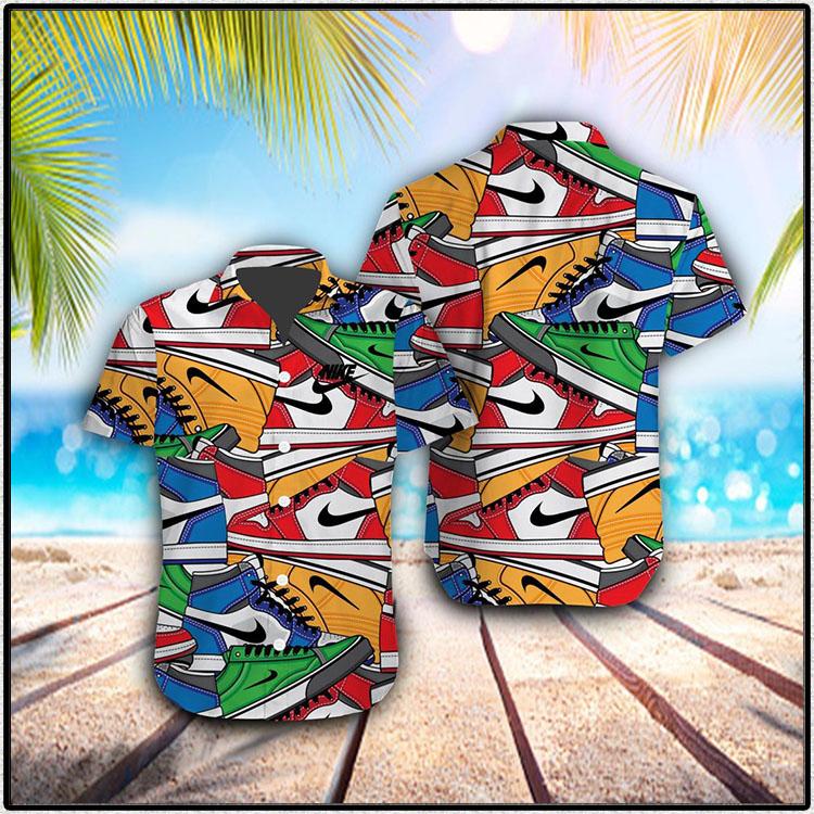 Sneaker Match Hawaiian Shirt And Short2