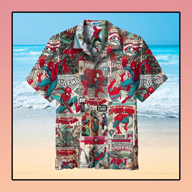 Spider-Man Hawaiian Shirt
