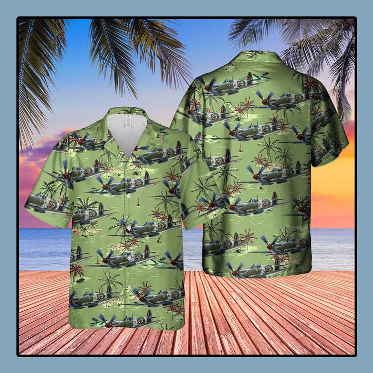 Supermarine Spitfire MkIX Hawaiian Shirt1
