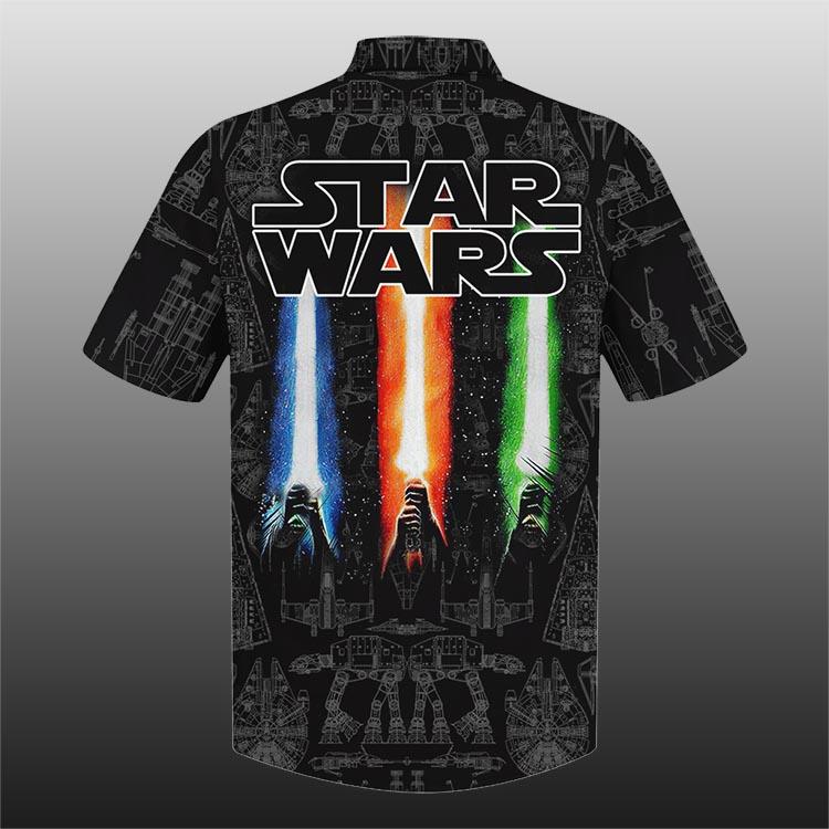 Sw Darth Dark Side Star Wars Hawaiian Shirt1