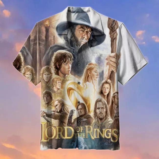The Lord of the Rings Commemorative Hawaiian Shirt