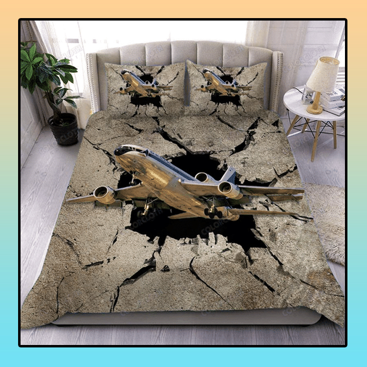 The sky is calling aircraft bedding set4