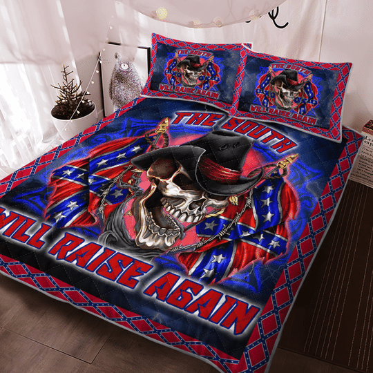 The south will raise again Quilt bedding set3