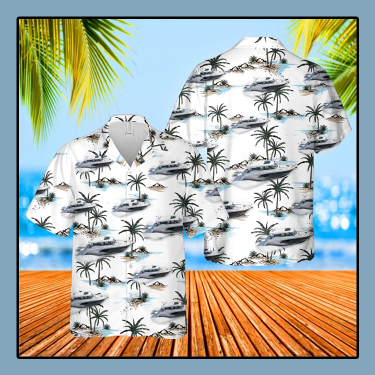 Tiara Yachts USA Hawaiian Shirt4