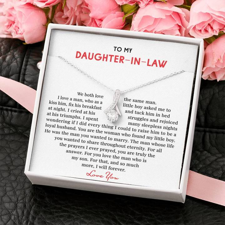 To My Daughter in Law we both love the same man alluring Necklace1