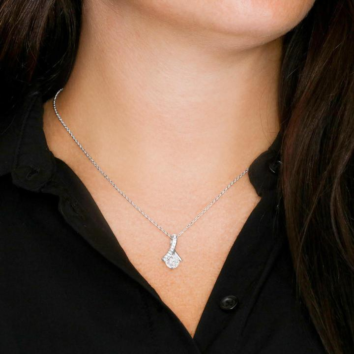 To My Daughter in Law we both love the same man alluring Necklace2