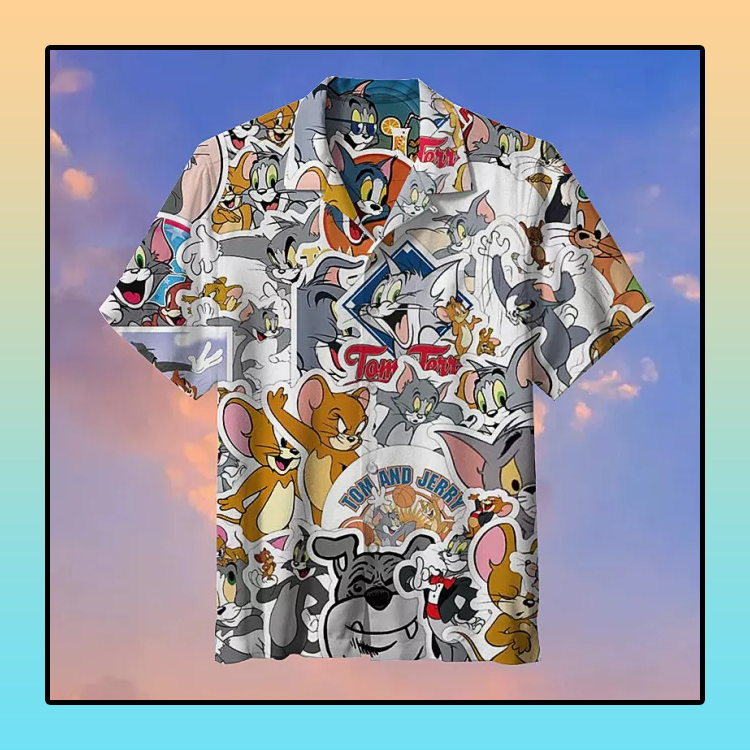 Tom and Jerry Commemorative Hawaii Shirt1