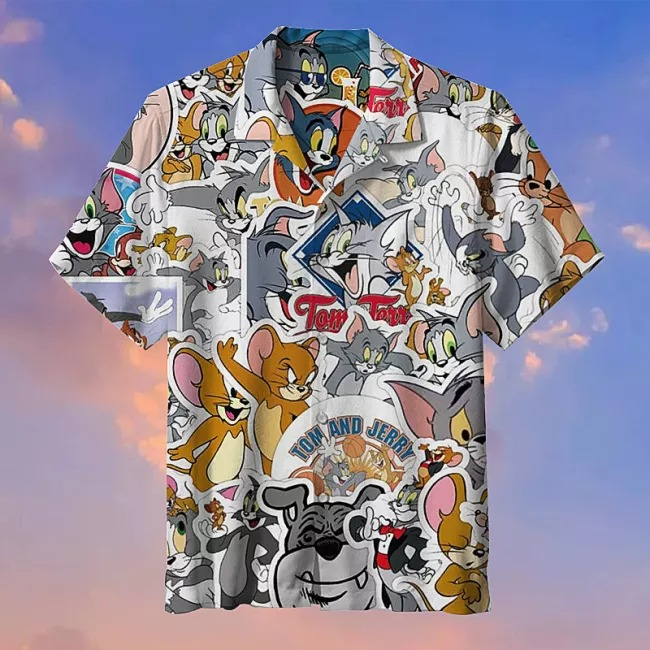 Tom and Jerry Commemorative Hawaii Shirt3