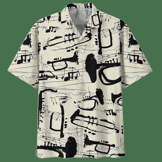 Trumpet hawaiian shirt