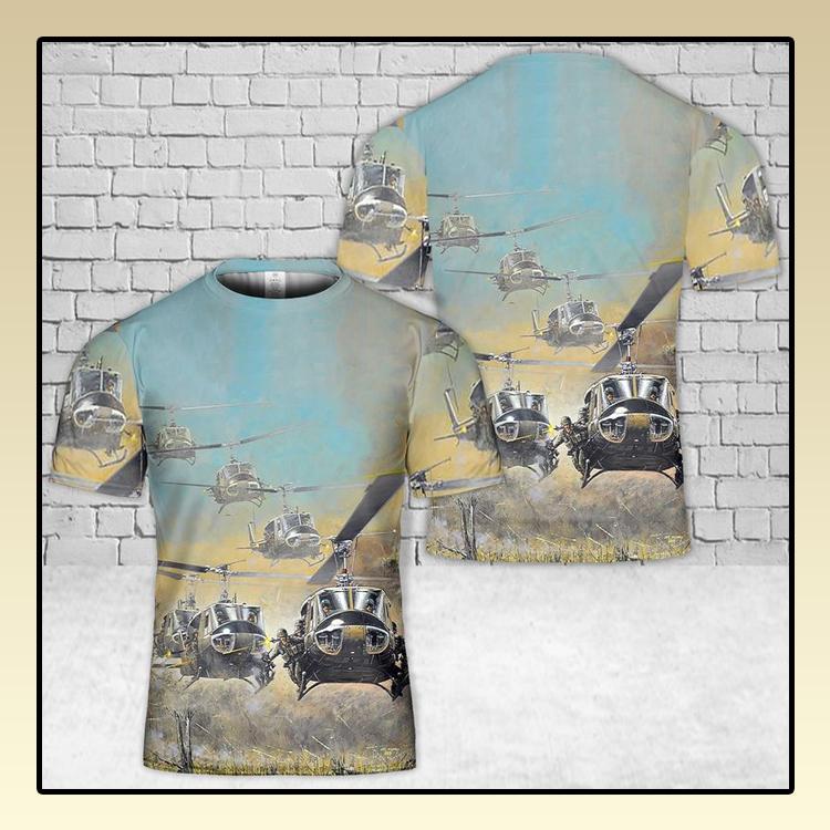 UH 1H Huey 3D T Shirt3